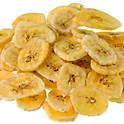 Bananenchips Scheiben getrocknet