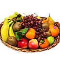 Obstkorb 8 Kg - Bananen, Äpfel und Birnen + 3  Saisonfrüchte