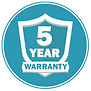 Water Heater 5 Year Warranty