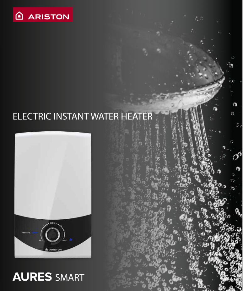 Ariston Aures Smart Instant Water Heater