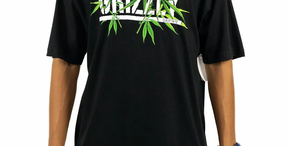 Camiseta Grizzly SEEDS STAMP Tee - Black