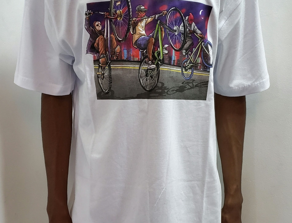 Camiseta DGK Squad Tee - White