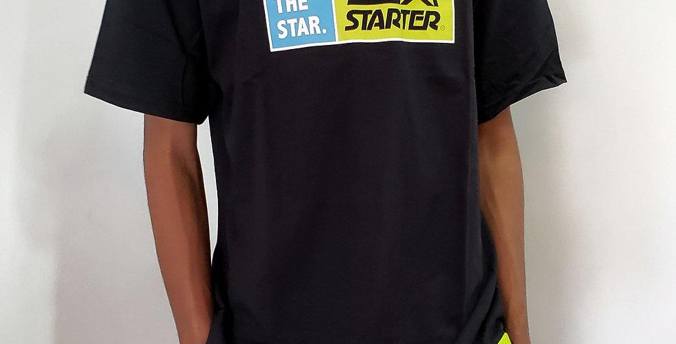 Camiseta Starter Logo Box  - Black