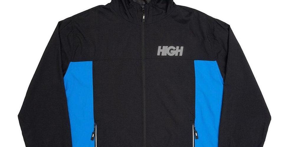 Corta Vento HIGH Rain Jacket - Black/Blue