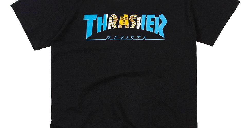 Camiseta Thrasher Argentina - Black