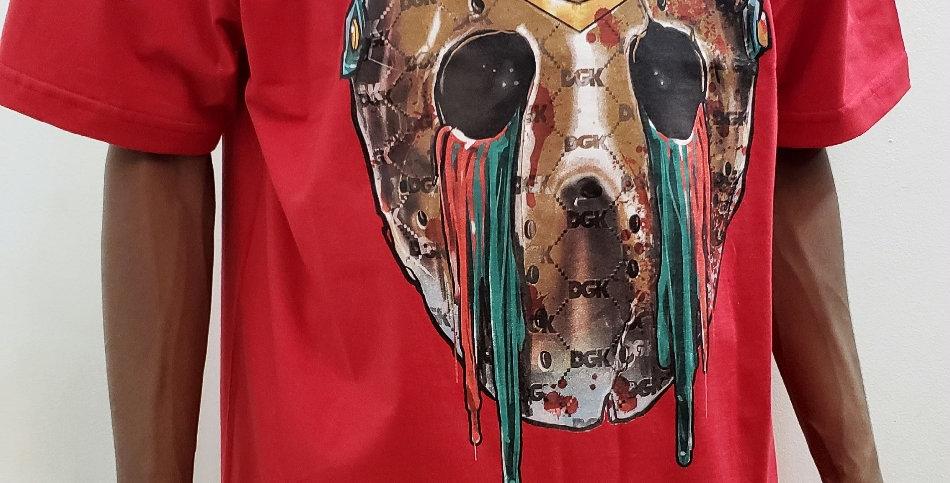 Camiseta DGK Hooligan Tee - Red