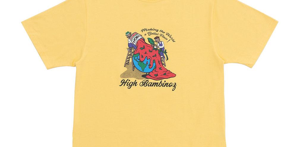 Camiseta HIGH Tee Bambinoz - Yellow