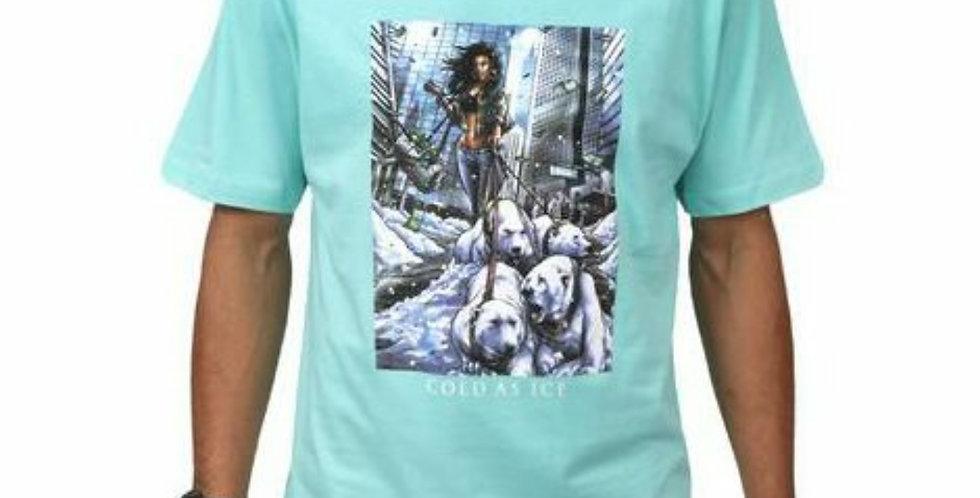 Camiseta DGK POLAR Tee - Celadon