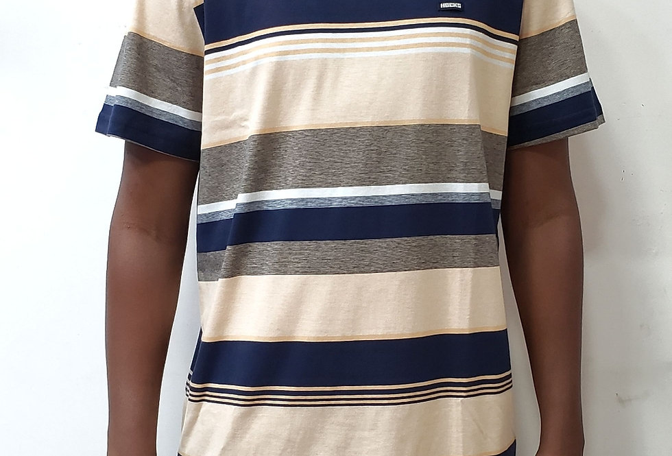 Camiseta Hocks Listrada Triplice - Collors