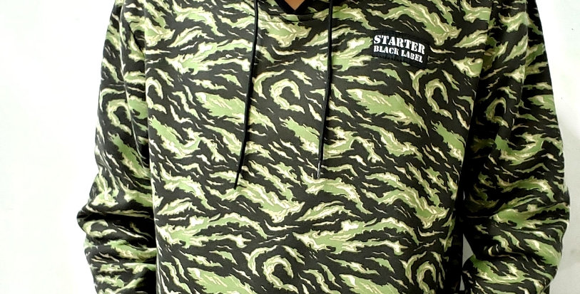 Moletom Starter Camuflage 19 Hoodie - Green