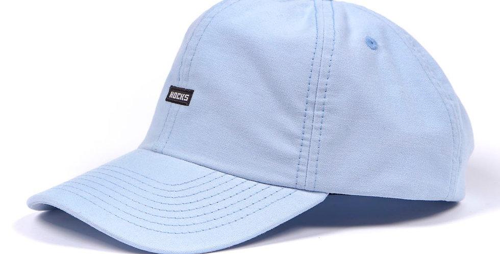 Boné Hocks Logo Dad Hat Strapback - Cielo