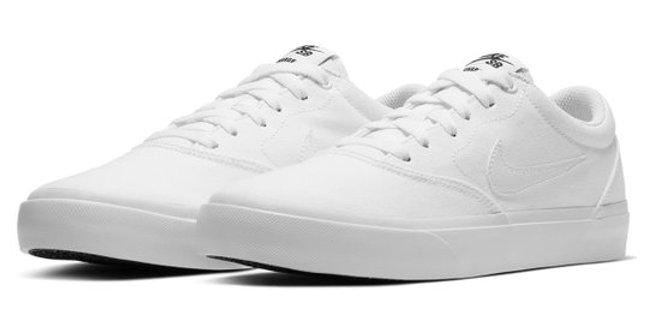 Tênis Nike SB Charge Canvas - White