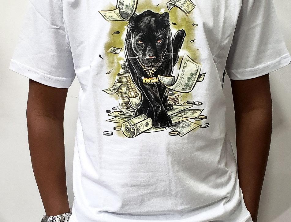 Camiseta DGK Prowl Tee - White