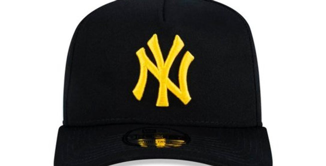 Boné New Era 940 MLB NY Yankees Snapback Hat - Black / Gold