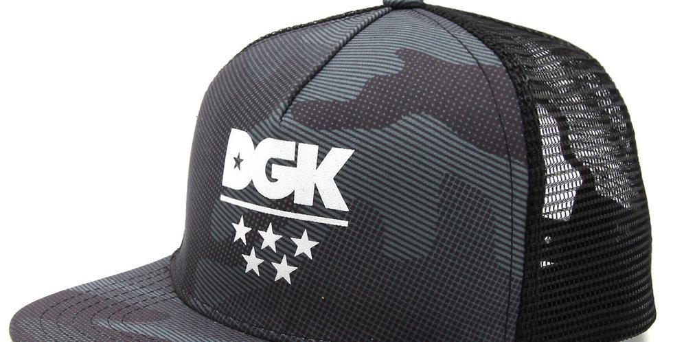 Boné DGK Alpha Snapback - Camo Black