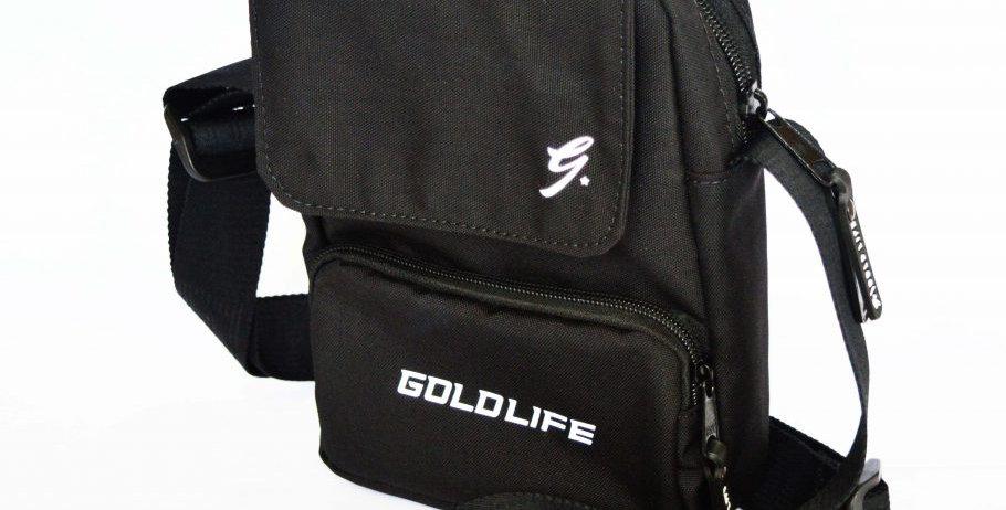 Shoulder Bag Gold Life LOGO Refletivo