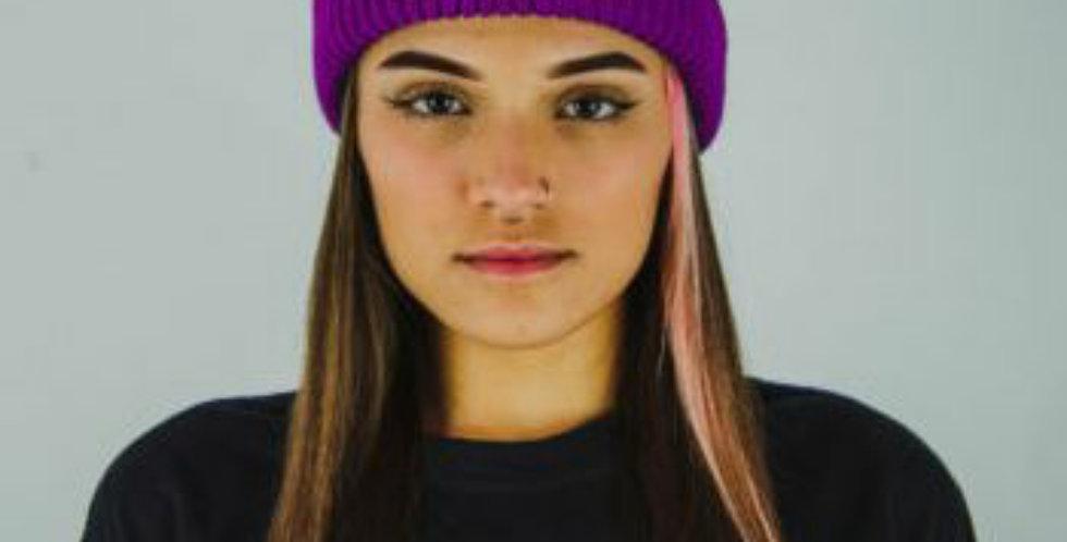 Gorro Gold Life Colors VX - Purple
