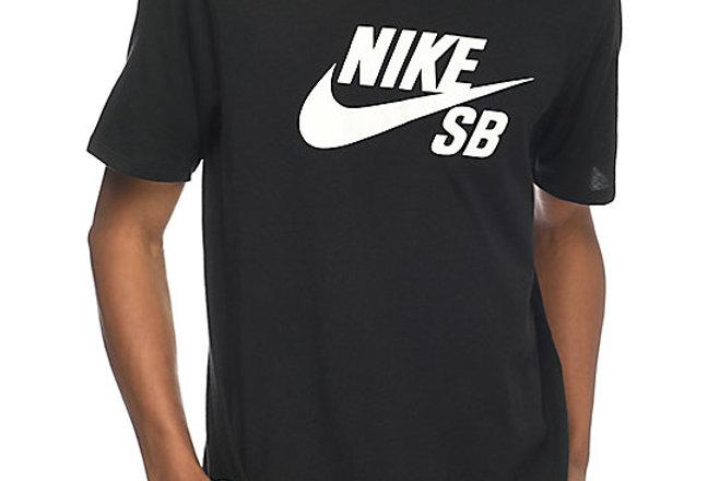 Camiseta Nike SB Logo Tee - Black