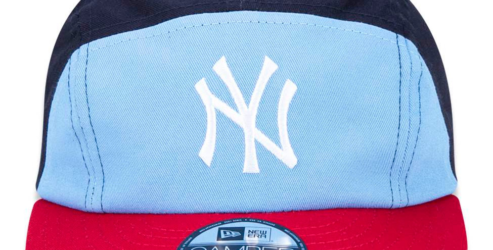 Boné New Era Camper MLB 920 NY Yankees 5Panel Strapback Hat - Blue/Red