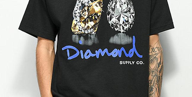 Camiseta Diamond Tiger Tee - Black