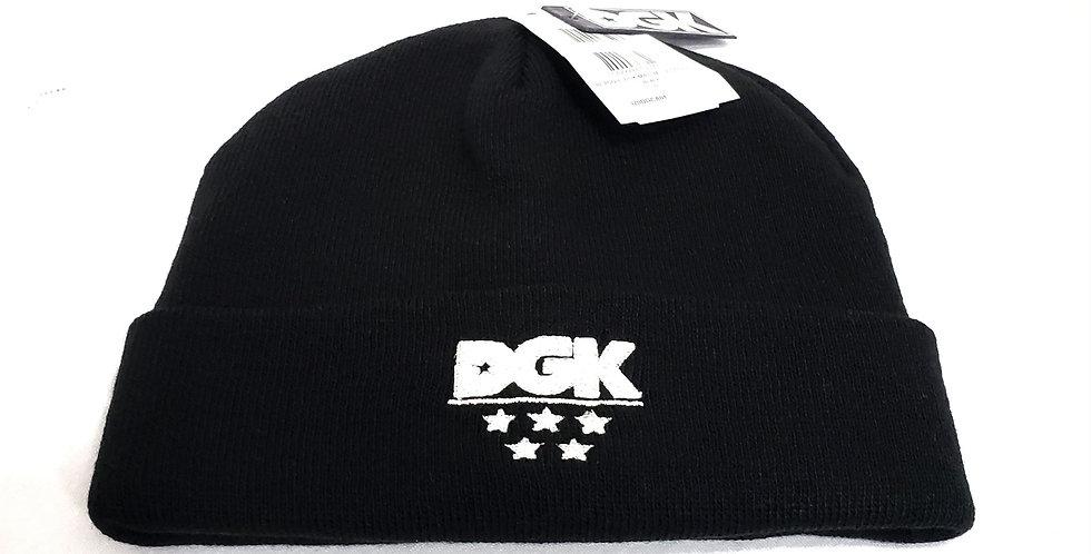 Gorro DGK Major Beanie - Black