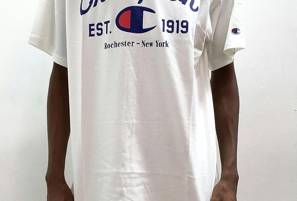 Camiseta Champion Arc Ink - White