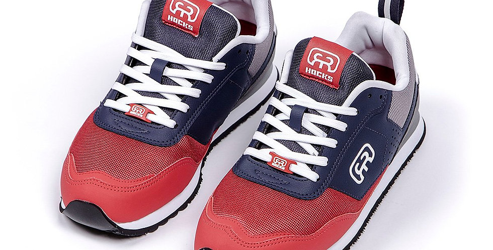Tênis Hocks NUV - Navy Grey Red