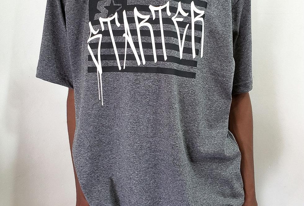 Camiseta Starter Pixo Flag - Dark Gray