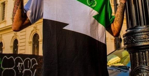 Camiseta Gold Life ZEUS - Green/Black/White