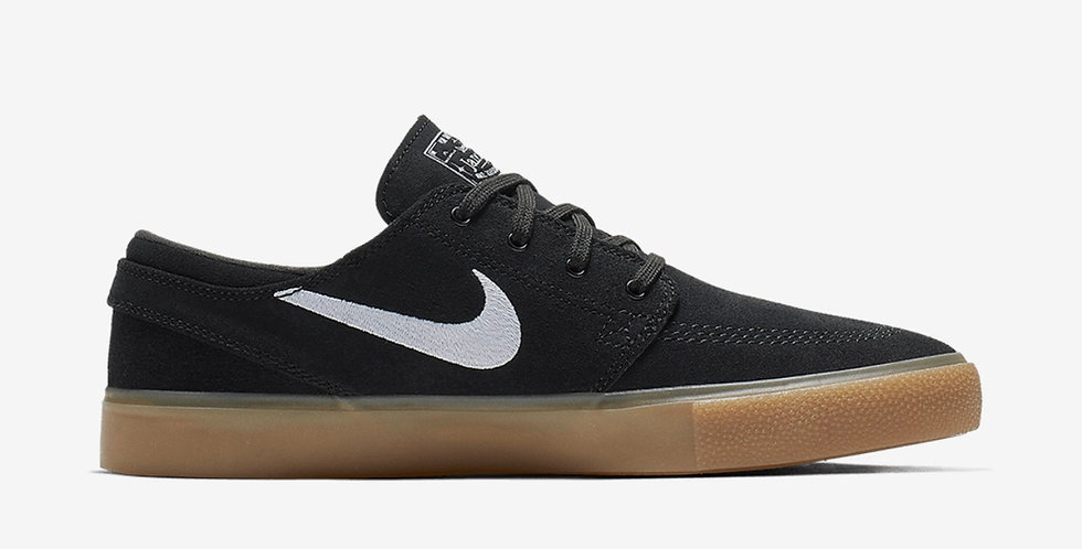 Tênis Nike SB Zoom Stefan Janoski Rm  Black Natural