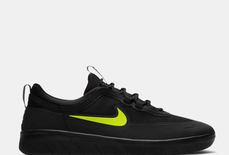 Nike SB Nyjah Free 2 - Black/Lime