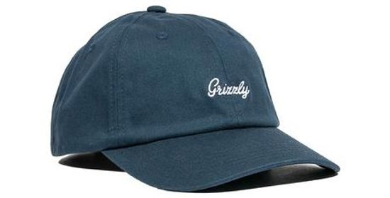 Boné Grizzly Late To The Game Dad Hat Strapback - Navy