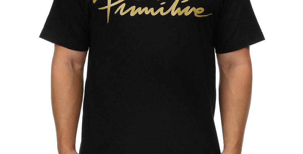 Camiseta Primitive Nuevo Script Tee - Black