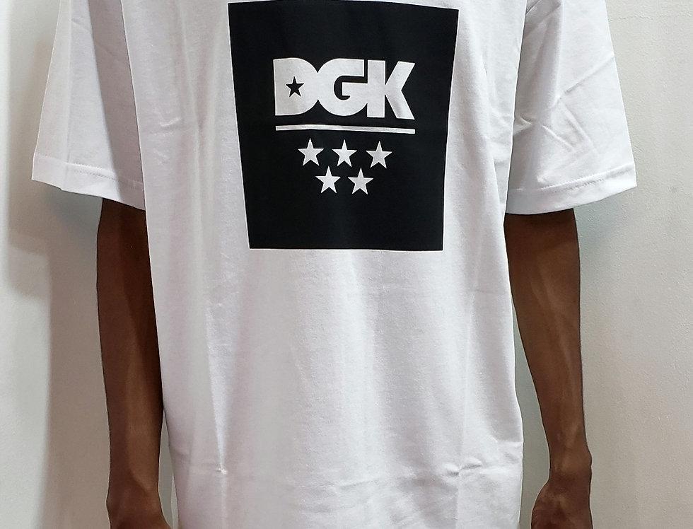Camiseta DGK New All Star Tee - White