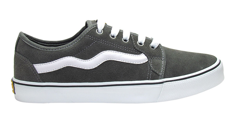 Tênis Mad Rats Old School - Grey/White