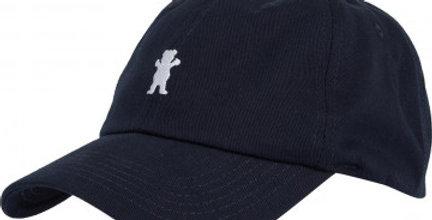 Boné Grizzly OG Bear Logo Dad Hat Strapback - Navy
