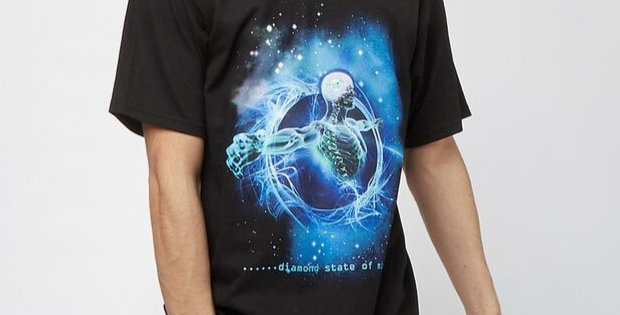 Camiseta Diamond State Of Mind Tee - Black