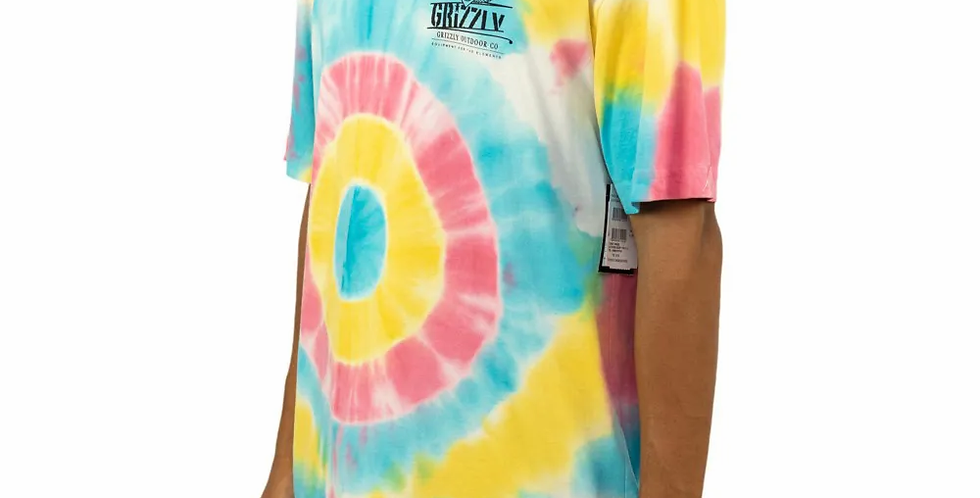 Camiseta Grizzly Outdoor Equip Tie Dye Tee
