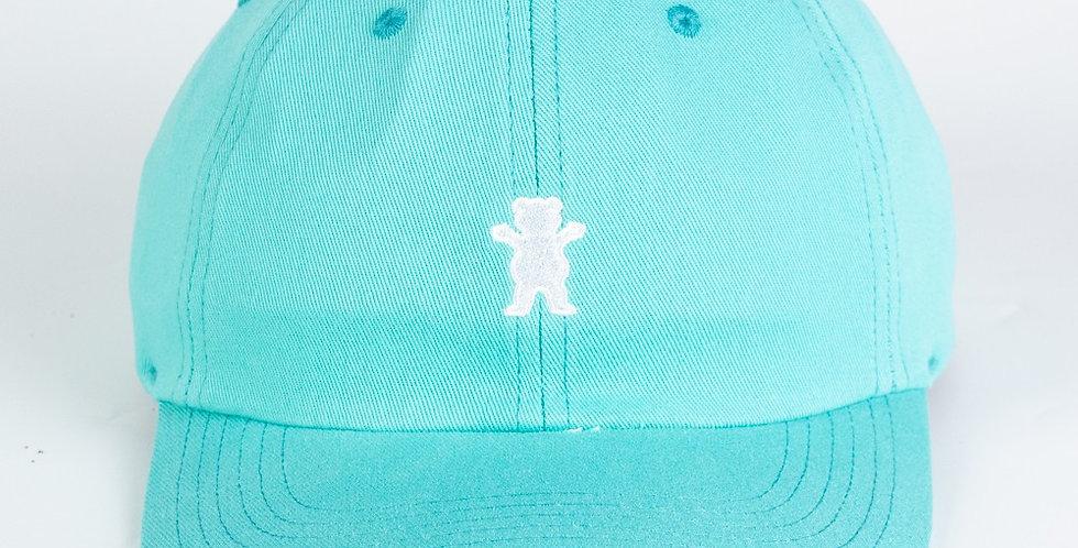 Boné Grizzly OG Bear Logo Dad Hat Strapback - Celadon