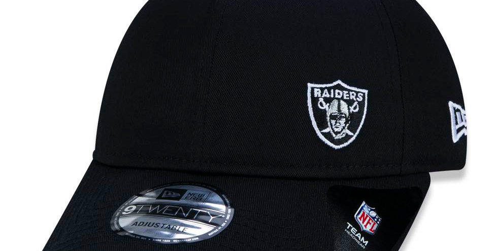 Boné New Era Raiders 9twenty Strapback - Black