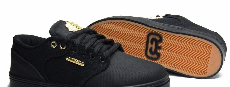 Tênis Hocks Montreal - Black Gold