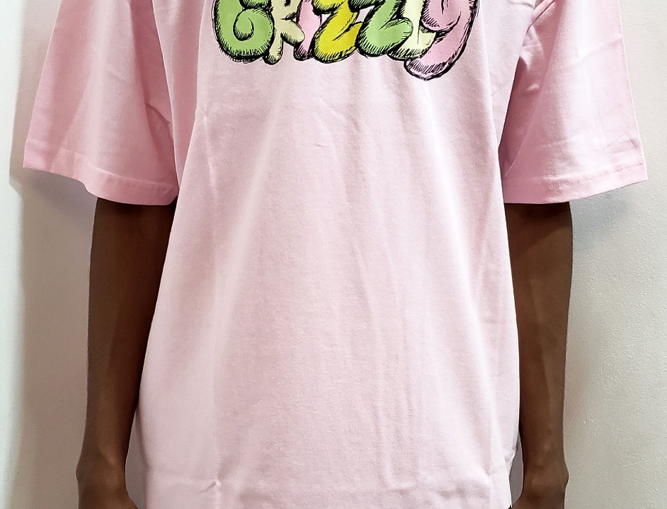 Camiseta Grizzly Fuzzy Tee - Pink