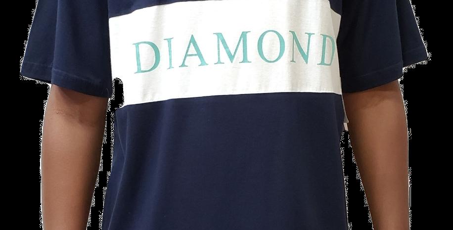 Camiseta Diamond Elliot Tee - Navy