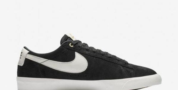 Tênis Nike SB Blazer Low GT - Black/White