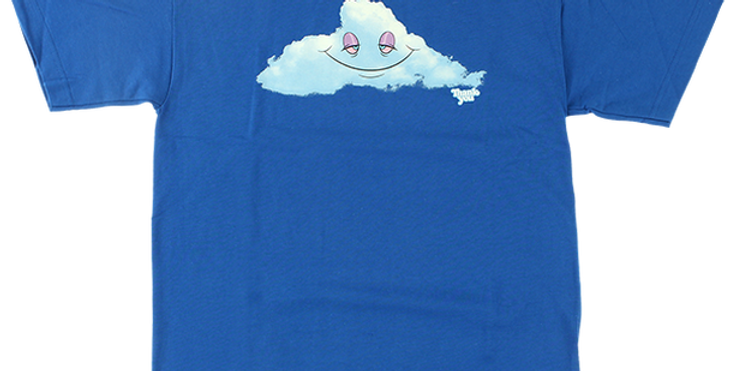 Camiseta Thank You Head In The Cloud SS Tee - Blue