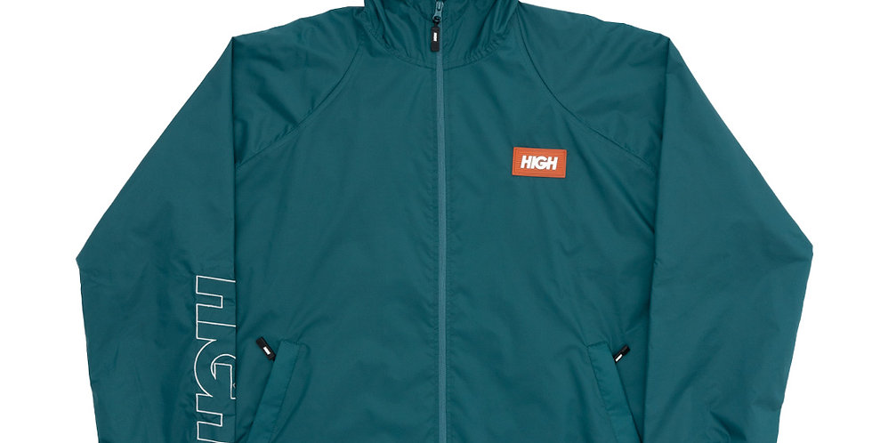 Corta Vento HIGH Rain Coat Label - Night Green