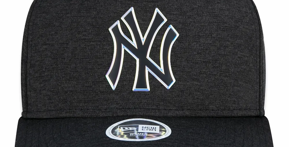 Boné New Era 940 Wmns MLB NY Yankees Iridescent Snapback Hat  - Dark Gray