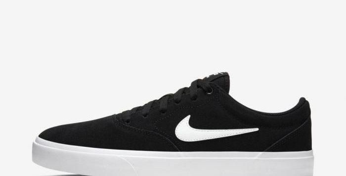 Tênis Nike SB Charge Suede - Black White