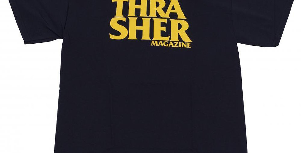 Camiseta Thrasher Anti Logo - Black