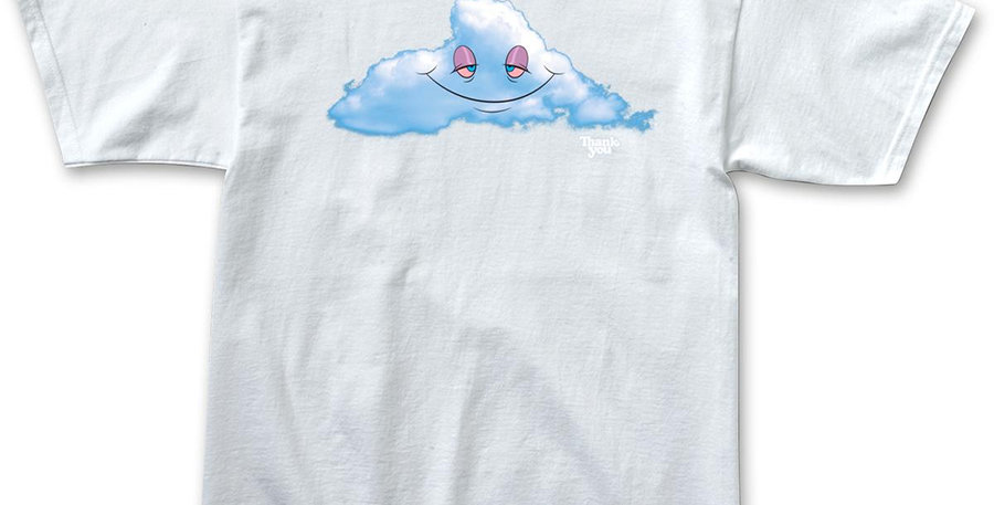Camiseta Thank You Head In The Cloud SS Tee - White